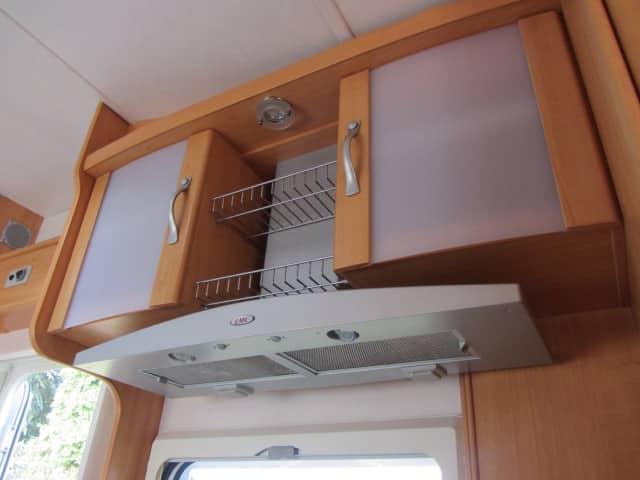 LMC 661 G keukenkastjes en dampkap