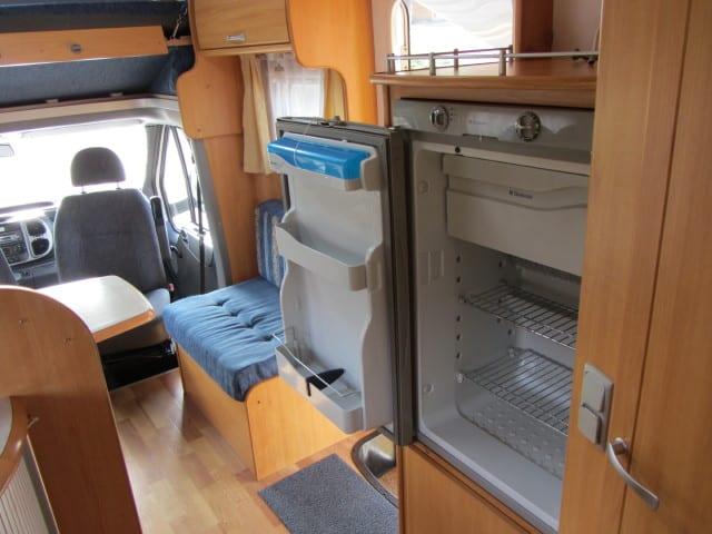 LMc 698 G open frigo met diepvriesvak