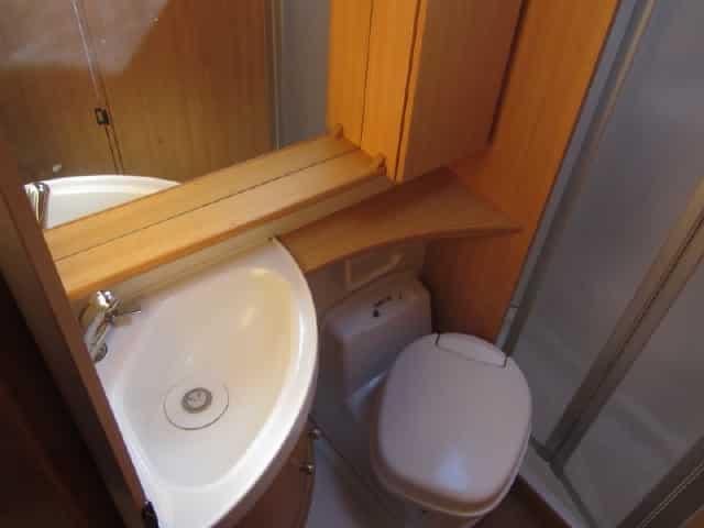 LMC 582 Ti WC en lavabo